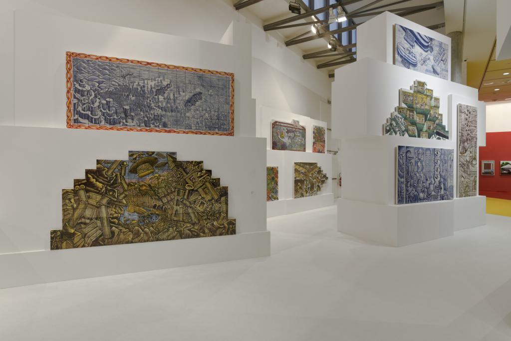Vue de l'exposition Hervé Di Rosa à la Piscine de Roubaix (13)