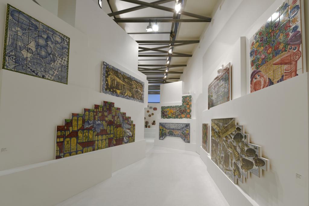 Vue de l'exposition Hervé Di Rosa à la Piscine de Roubaix (14)