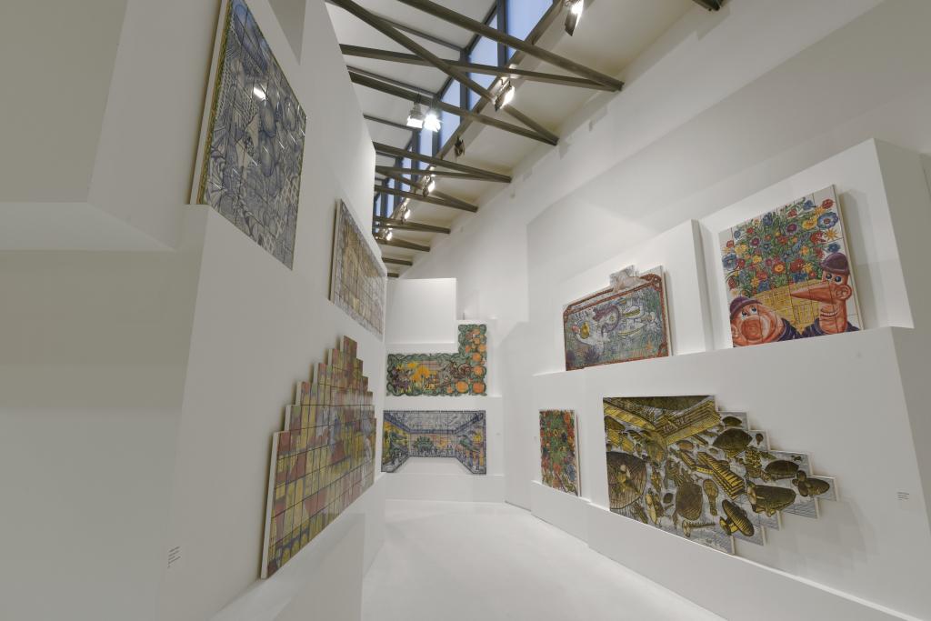Vue de l'exposition Hervé Di Rosa à la Piscine de Roubaix (15)