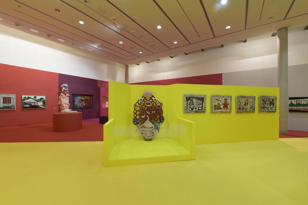 Vue de l'exposition Hervé Di Rosa à la Piscine de Roubaix (16)