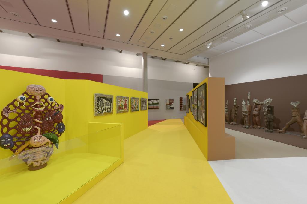 Vue de l'exposition Hervé Di Rosa à la Piscine de Roubaix (17)