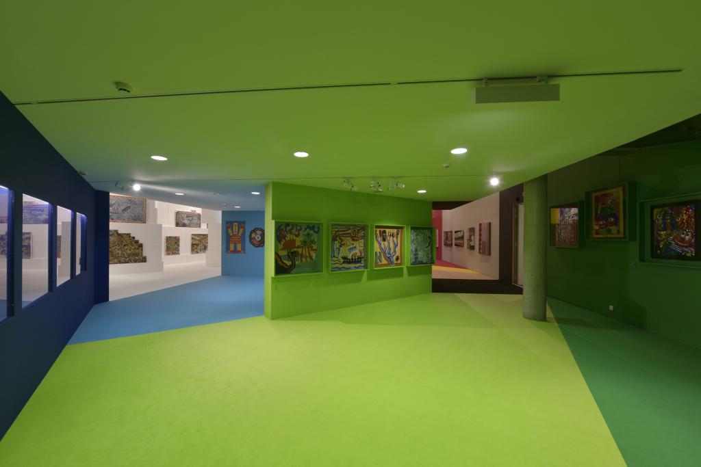 Vue de l'exposition Hervé Di Rosa à la Piscine de Roubaix (2)