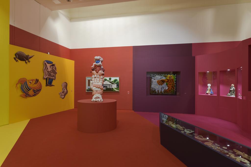 Vue de l'exposition Hervé Di Rosa à la Piscine de Roubaix (20)