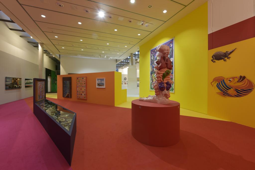 Vue de l'exposition Hervé Di Rosa à la Piscine de Roubaix (23)