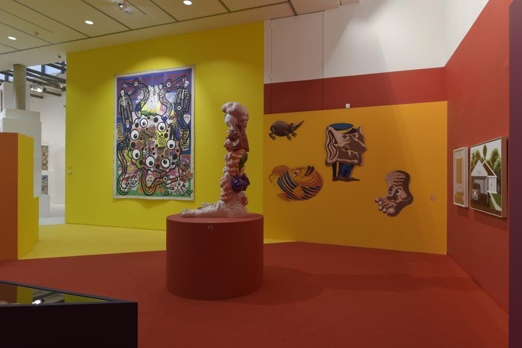 Vue de l'exposition Hervé Di Rosa à la Piscine de Roubaix (24)