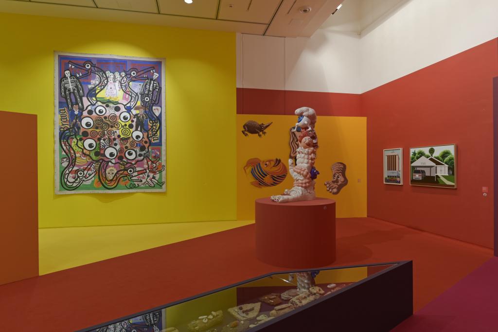 Vue de l'exposition Hervé Di Rosa à la Piscine de Roubaix (25)