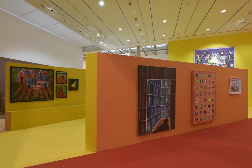 Vue de l'exposition Hervé Di Rosa à la Piscine de Roubaix (26)