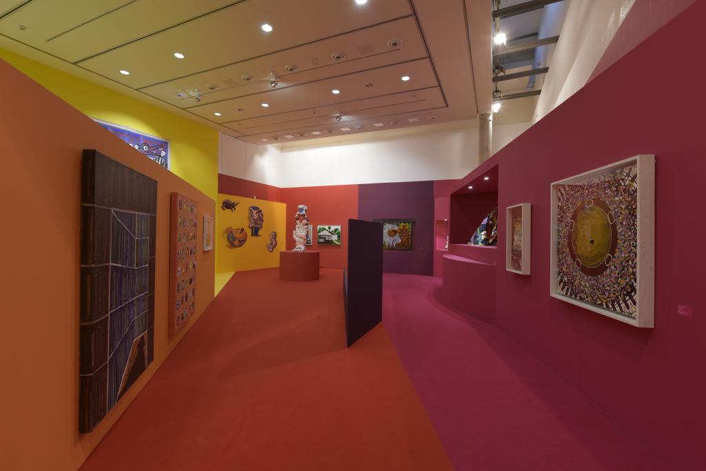 Vue de l'exposition Hervé Di Rosa à la Piscine de Roubaix (27)