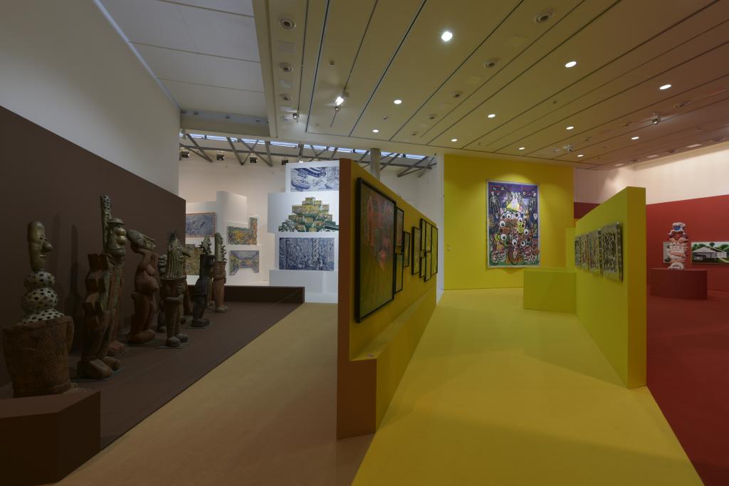 Vue de l'exposition Hervé Di Rosa à la Piscine de Roubaix (28)
