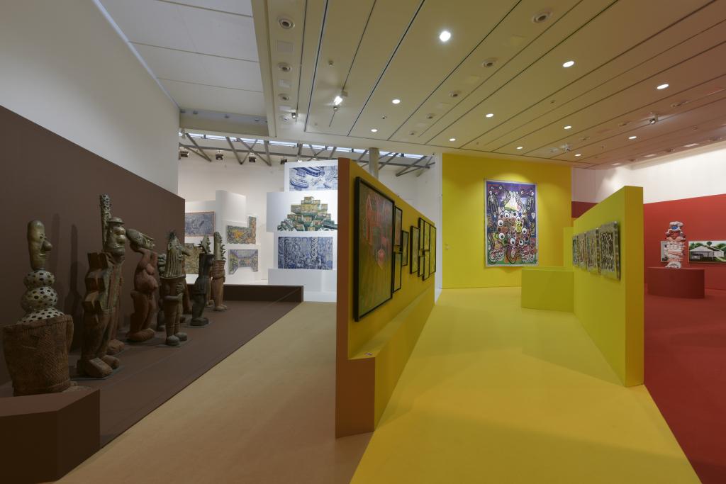 Vue de l'exposition Hervé Di Rosa à la Piscine de Roubaix (29)