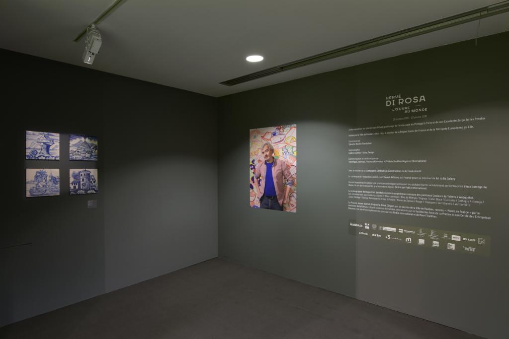 Vue de l'exposition Hervé Di Rosa à la Piscine de Roubaix (3)
