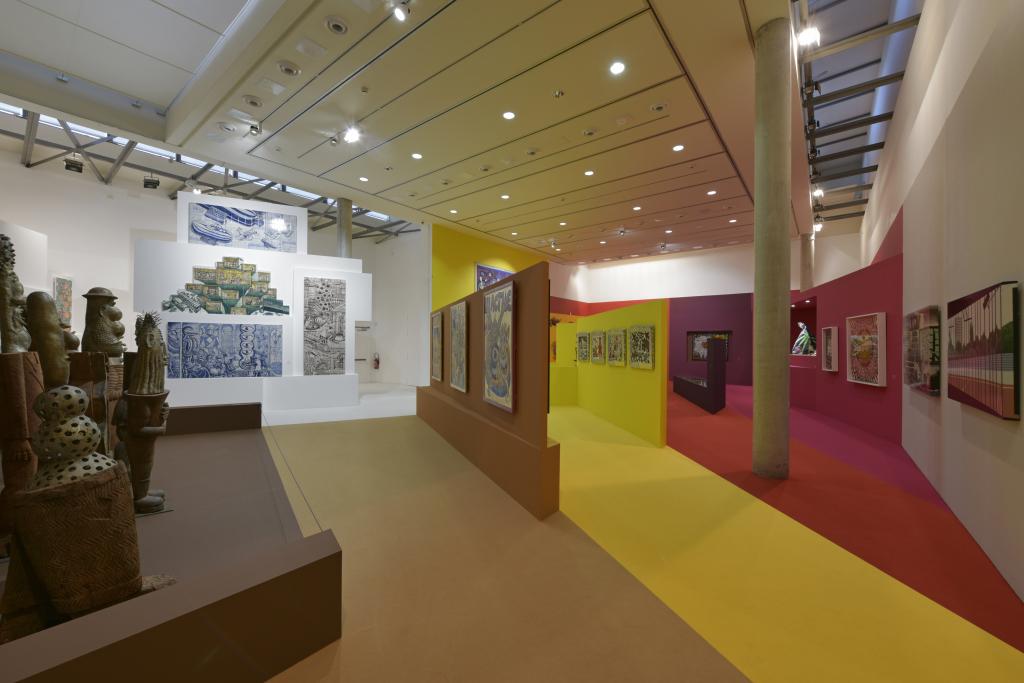 Vue de l'exposition Hervé Di Rosa à la Piscine de Roubaix (30)