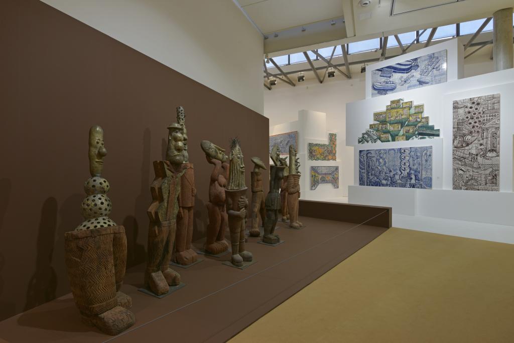 Vue de l'exposition Hervé Di Rosa à la Piscine de Roubaix (31)