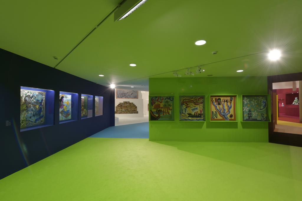 Vue de l'exposition Hervé Di Rosa à la Piscine de Roubaix (5)