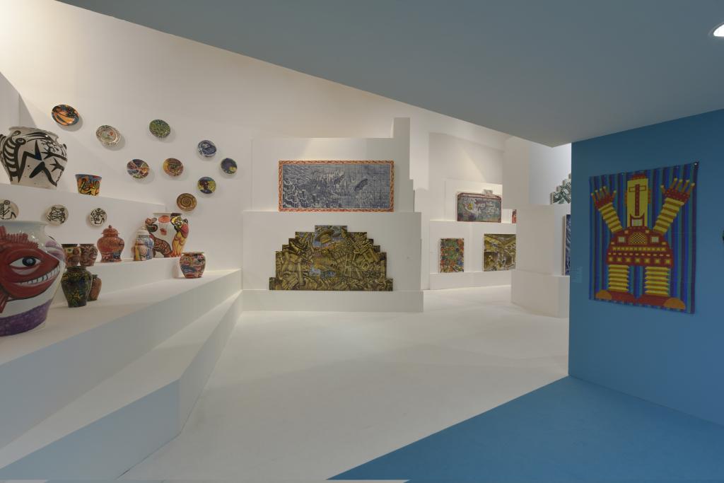 Vue de l'exposition Hervé Di Rosa à la Piscine de Roubaix (6)