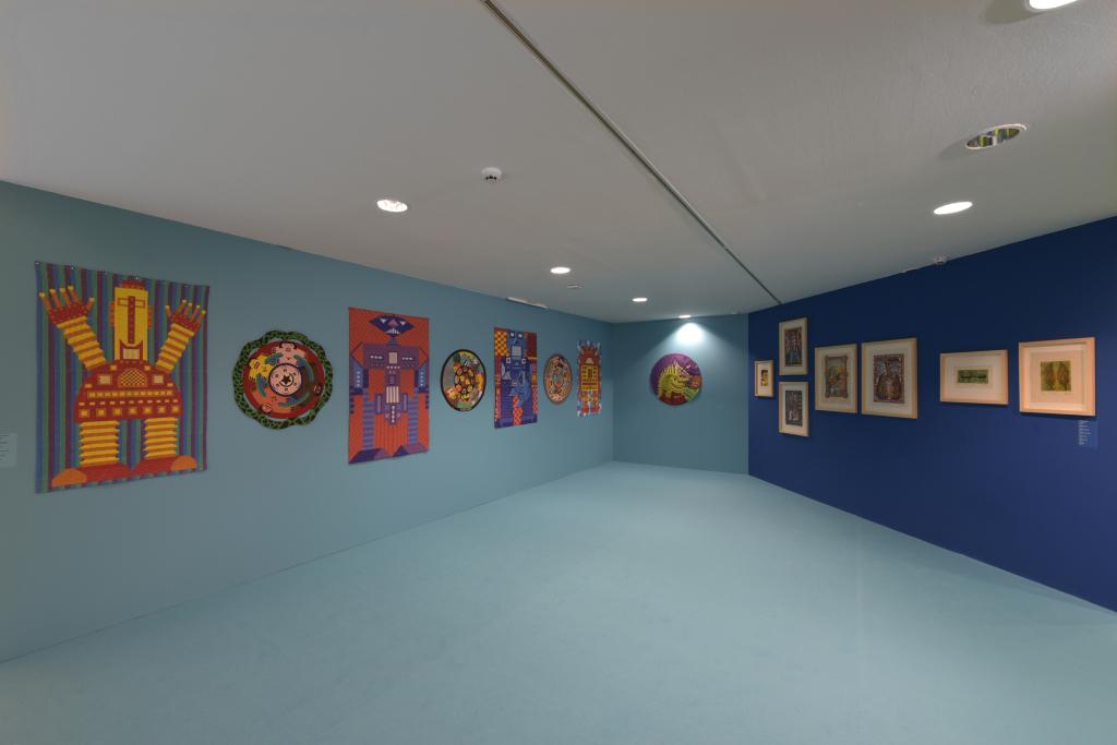 Vue de l'exposition Hervé Di Rosa à la Piscine de Roubaix (7)
