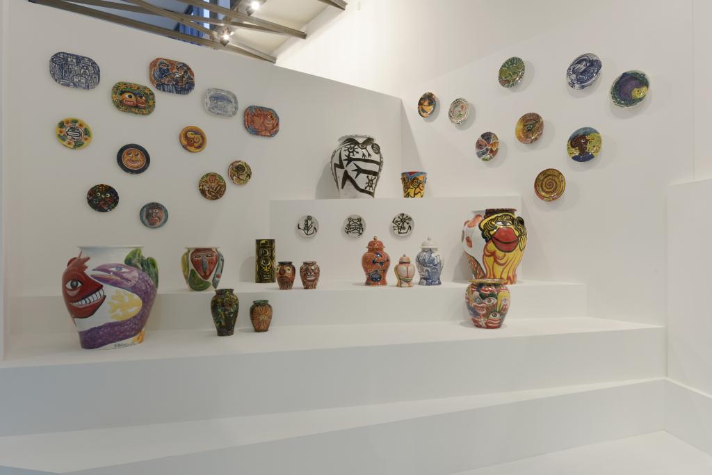 Vue de l'exposition Hervé Di Rosa à la Piscine de Roubaix (8)