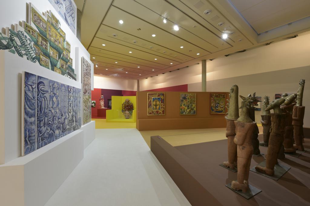 Vue de l'exposition Hervé Di Rosa à la Piscine de Roubaix (9)