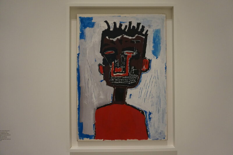 Vue de l'exposition Jean-Michel Basquiat - Fondation Louis Vuitton (1)