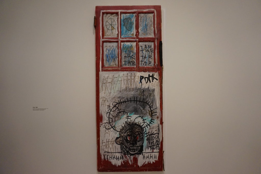 Vue de l'exposition Jean-Michel Basquiat - Fondation Louis Vuitton (10)