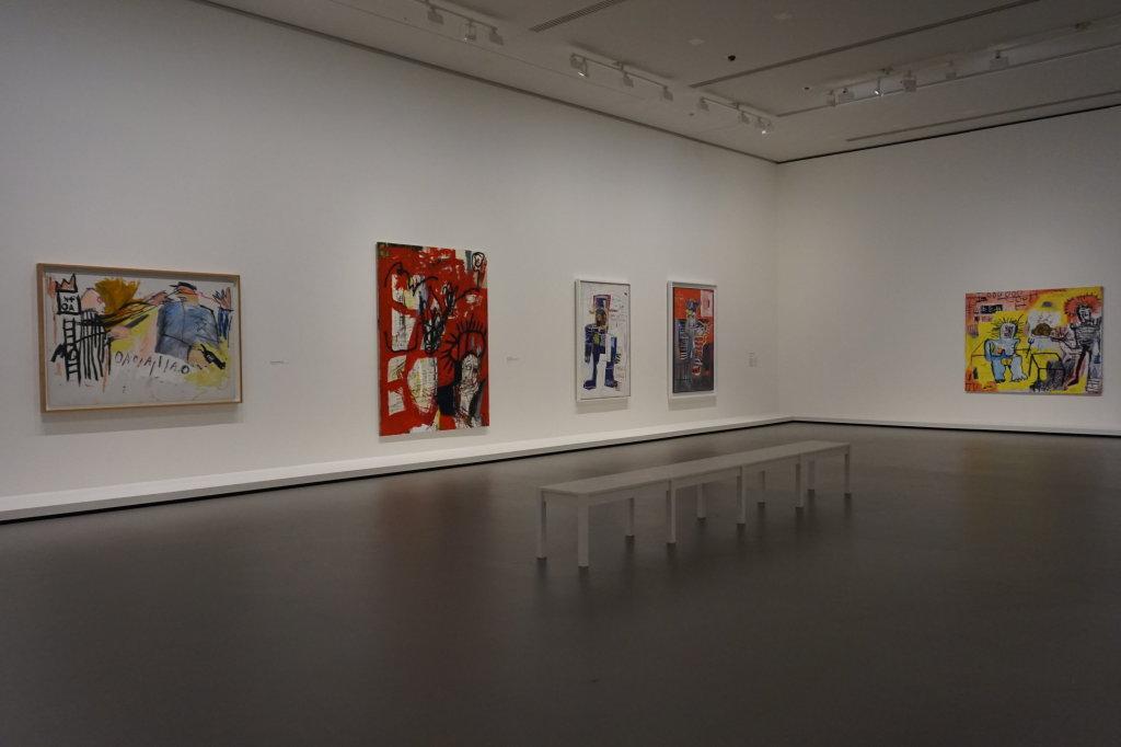 Vue de l'exposition Jean-Michel Basquiat - Fondation Louis Vuitton (12)