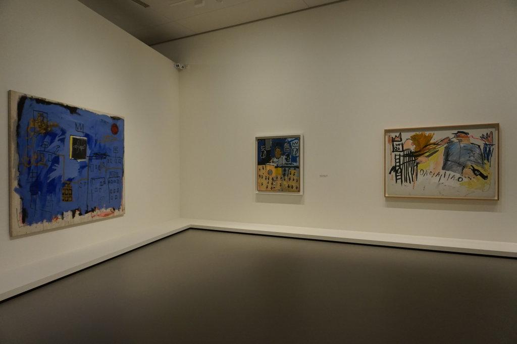Vue de l'exposition Jean-Michel Basquiat - Fondation Louis Vuitton (14)