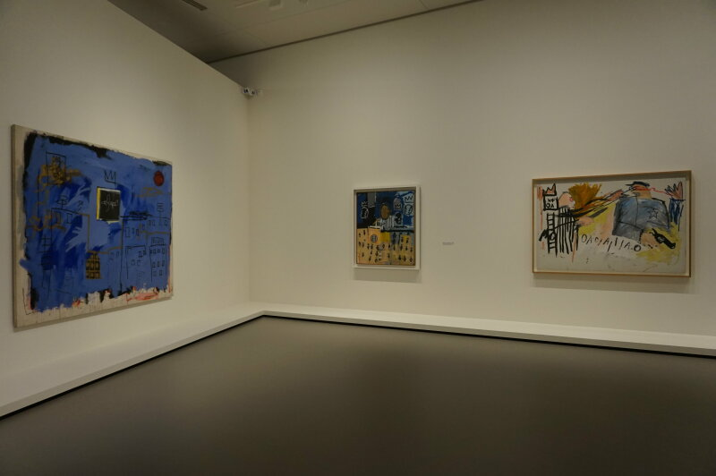 Vue de l'exposition Jean-Michel Basquiat - Fondation Louis Vuitton (14)
