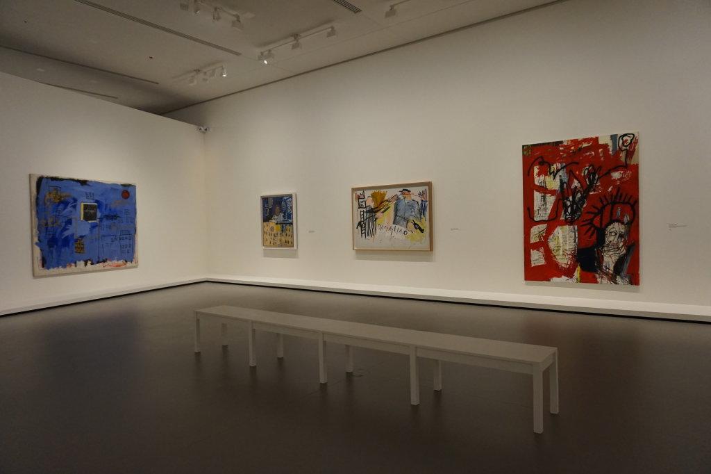 Vue de l'exposition Jean-Michel Basquiat - Fondation Louis Vuitton (15)