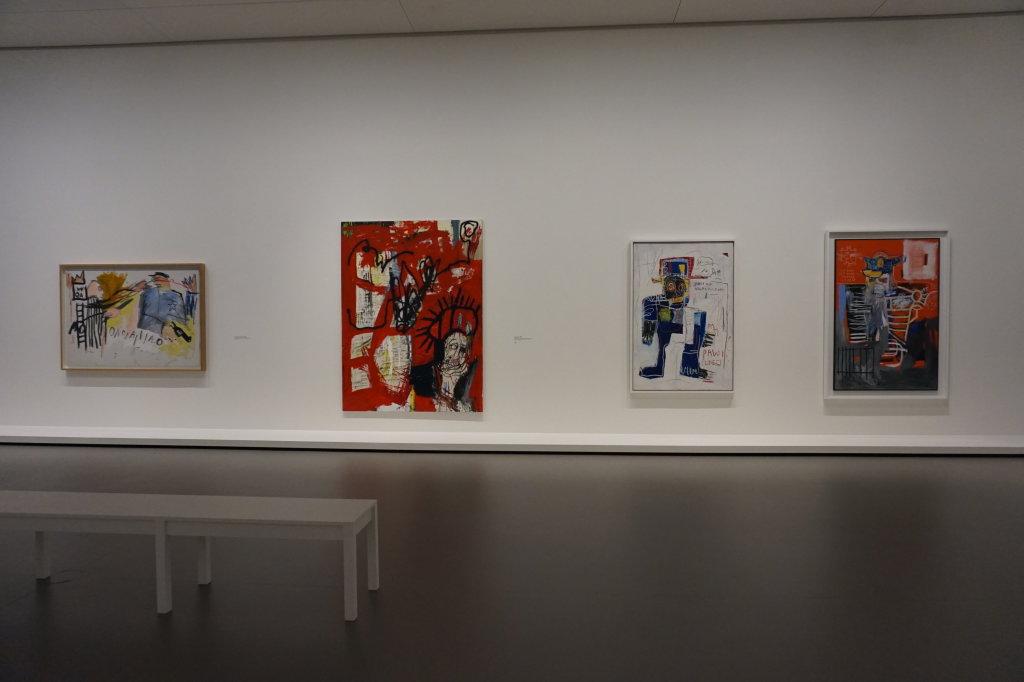 Vue de l'exposition Jean-Michel Basquiat - Fondation Louis Vuitton (16)