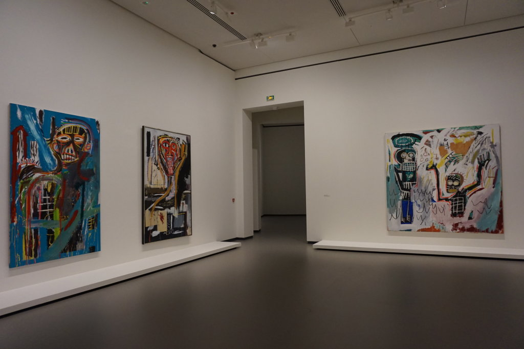 Vue de l'exposition Jean-Michel Basquiat - Fondation Louis Vuitton (17)