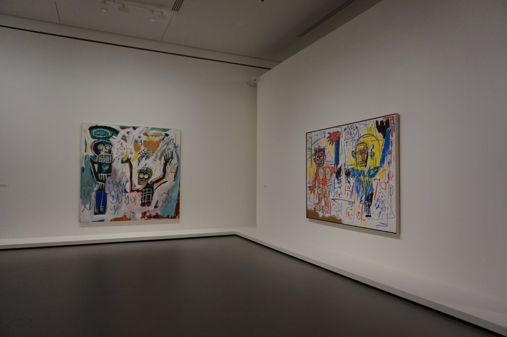 Vue de l'exposition Jean-Michel Basquiat - Fondation Louis Vuitton (18)