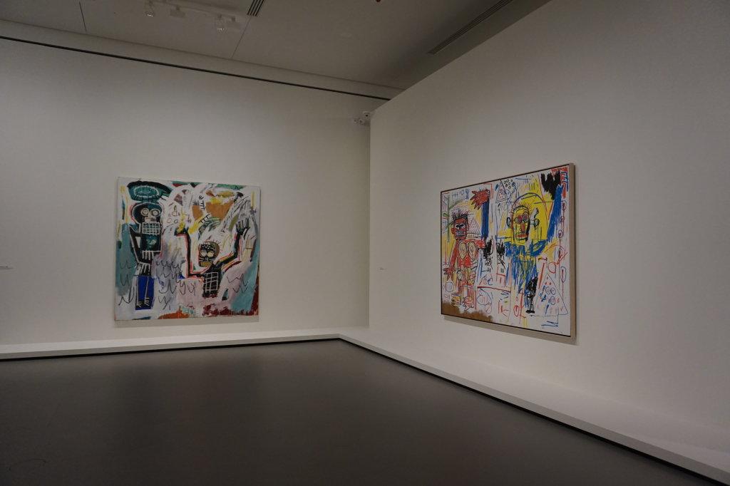 Vue de l'exposition Jean-Michel Basquiat - Fondation Louis Vuitton (18)