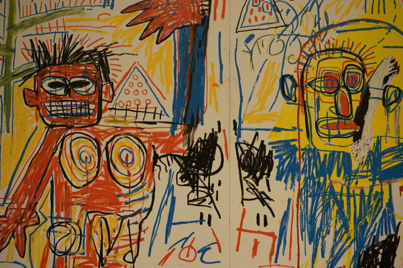 Vue de l'exposition Jean-Michel Basquiat - Fondation Louis Vuitton (19)