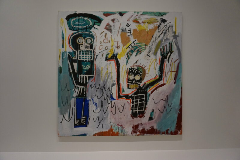 Vue de l'exposition Jean-Michel Basquiat - Fondation Louis Vuitton (20)