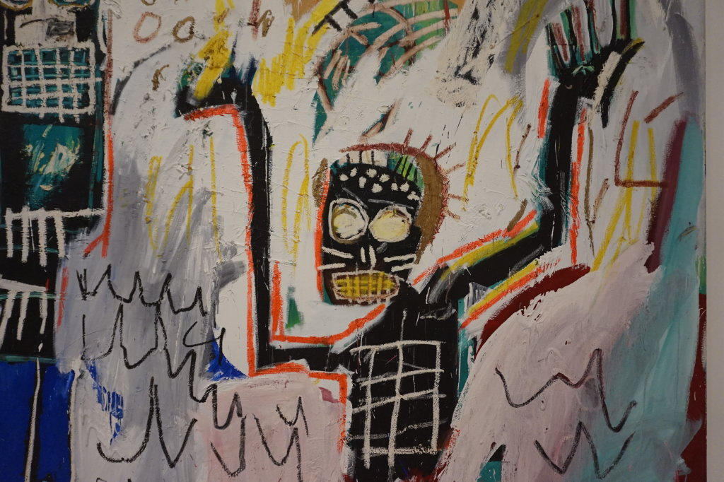 Vue de l'exposition Jean-Michel Basquiat - Fondation Louis Vuitton (21)