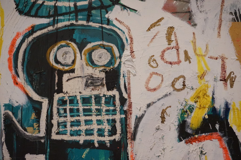 Vue de l'exposition Jean-Michel Basquiat - Fondation Louis Vuitton (22)