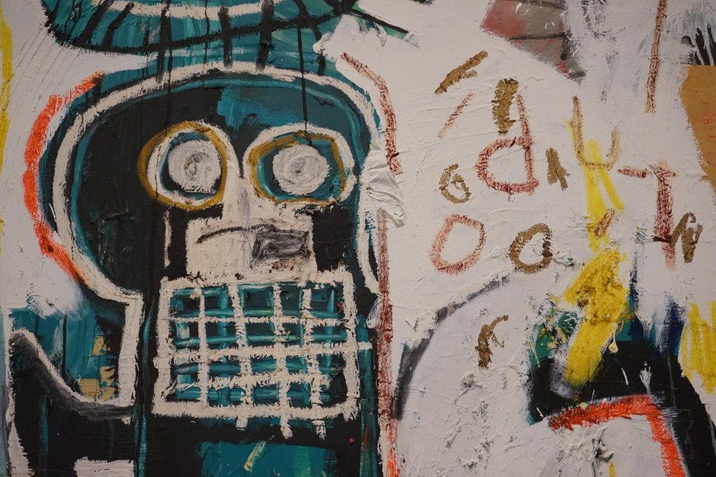Vue de l'exposition Jean-Michel Basquiat - Fondation Louis Vuitton (22)