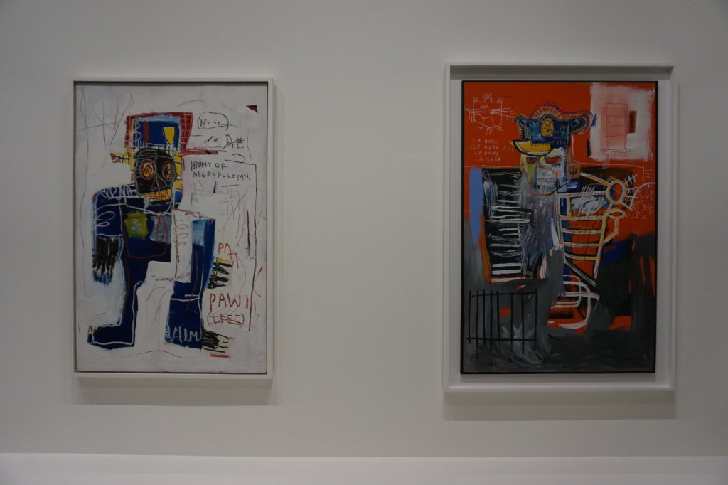 Vue de l'exposition Jean-Michel Basquiat - Fondation Louis Vuitton (23)