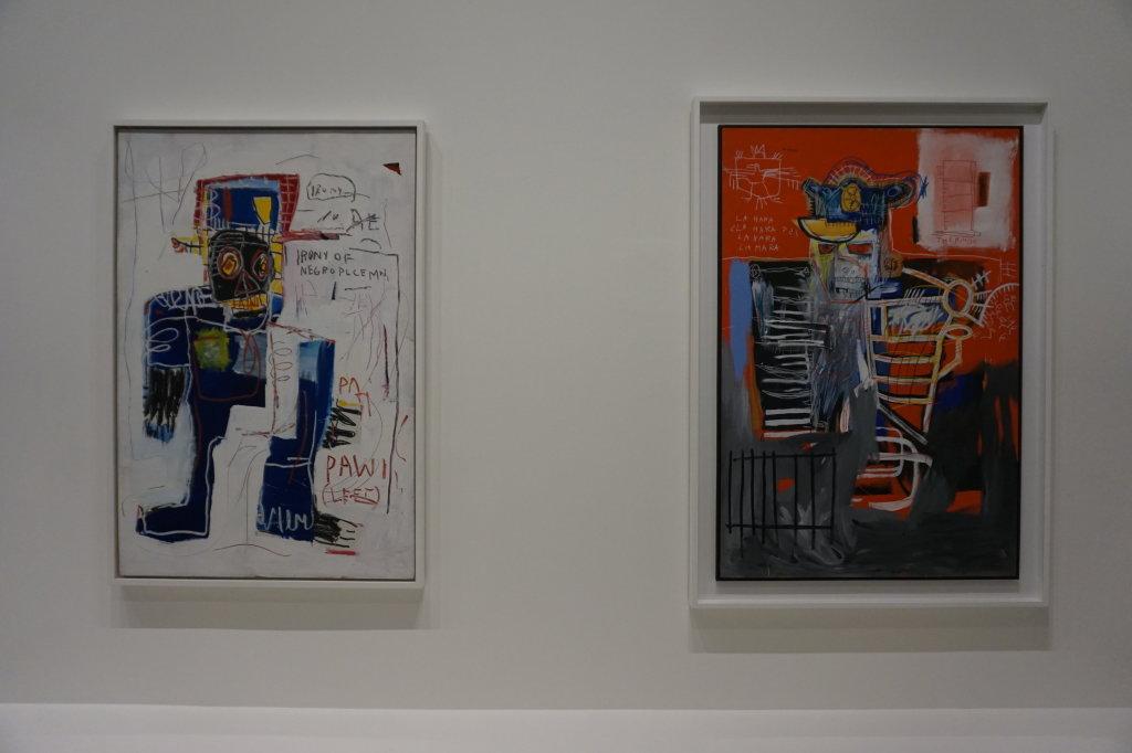 Vue de l'exposition Jean-Michel Basquiat - Fondation Louis Vuitton (23)