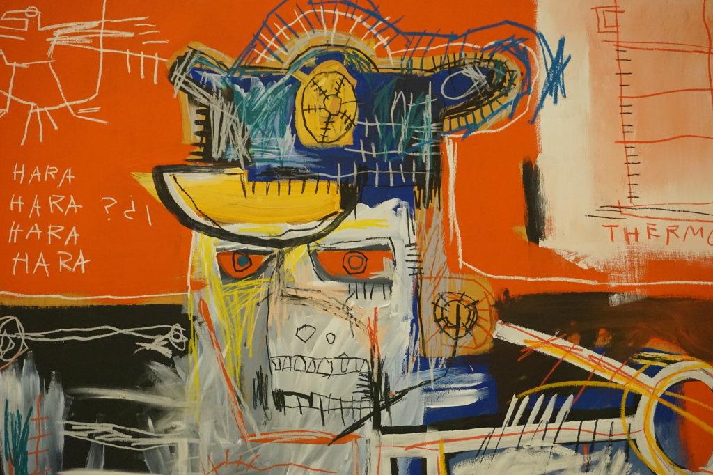 Vue de l'exposition Jean-Michel Basquiat - Fondation Louis Vuitton (24)