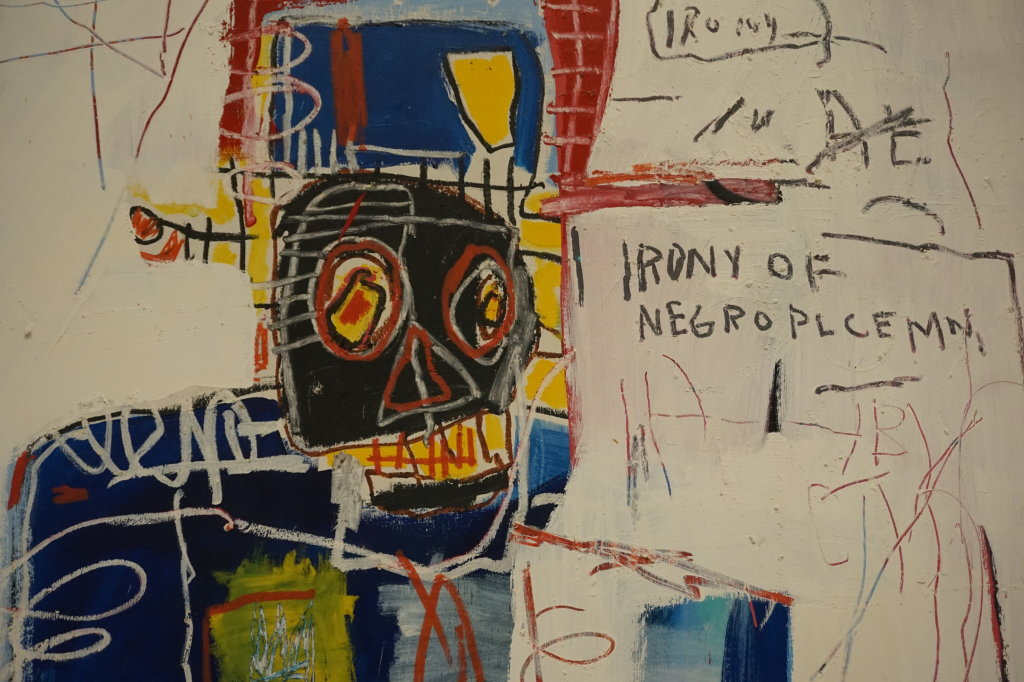 Vue de l'exposition Jean-Michel Basquiat - Fondation Louis Vuitton (25)
