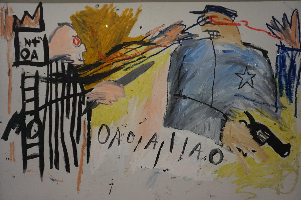 Vue de l'exposition Jean-Michel Basquiat - Fondation Louis Vuitton (27)
