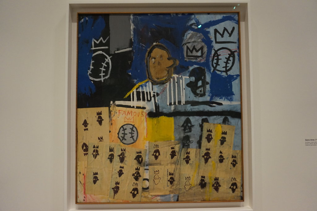 Vue de l'exposition Jean-Michel Basquiat - Fondation Louis Vuitton (28)