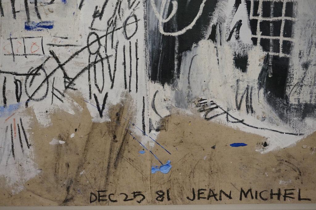 Vue de l'exposition Jean-Michel Basquiat - Fondation Louis Vuitton (29)