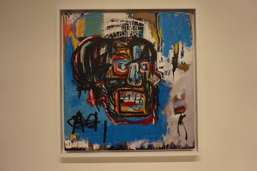 Vue de l'exposition Jean-Michel Basquiat - Fondation Louis Vuitton (30)