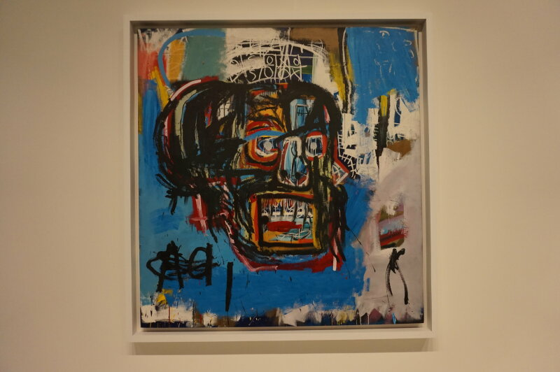 Vue de l'exposition Jean-Michel Basquiat - Fondation Louis Vuitton (30)
