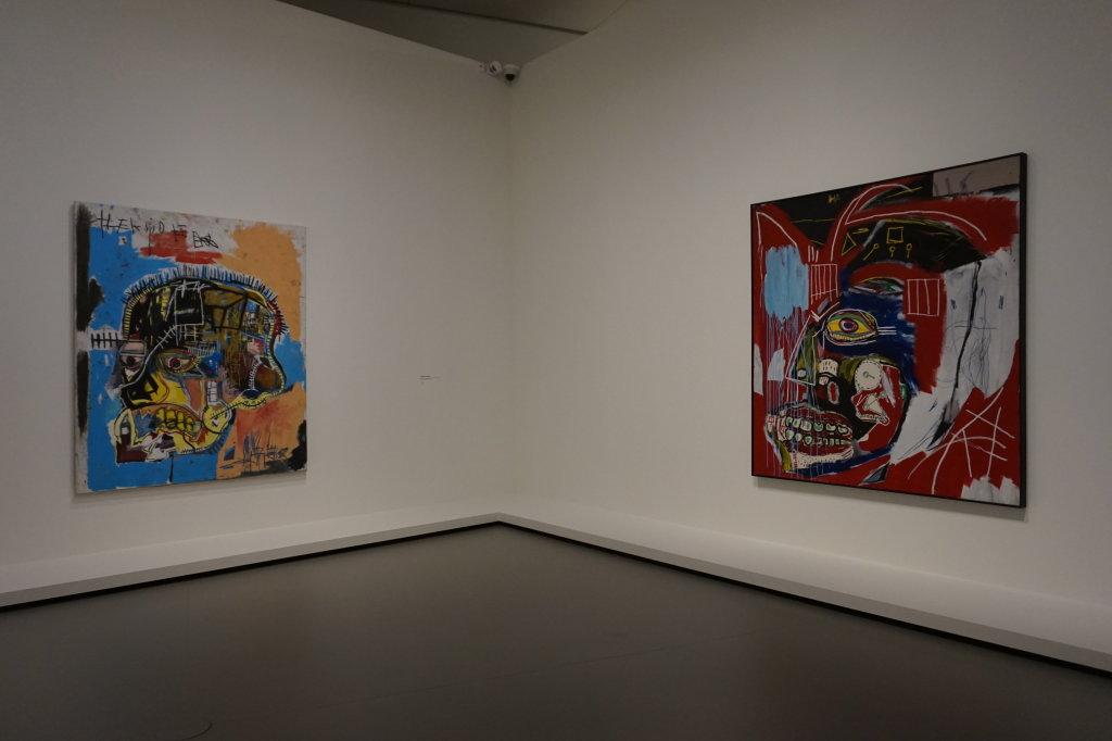 Vue de l'exposition Jean-Michel Basquiat - Fondation Louis Vuitton (33)
