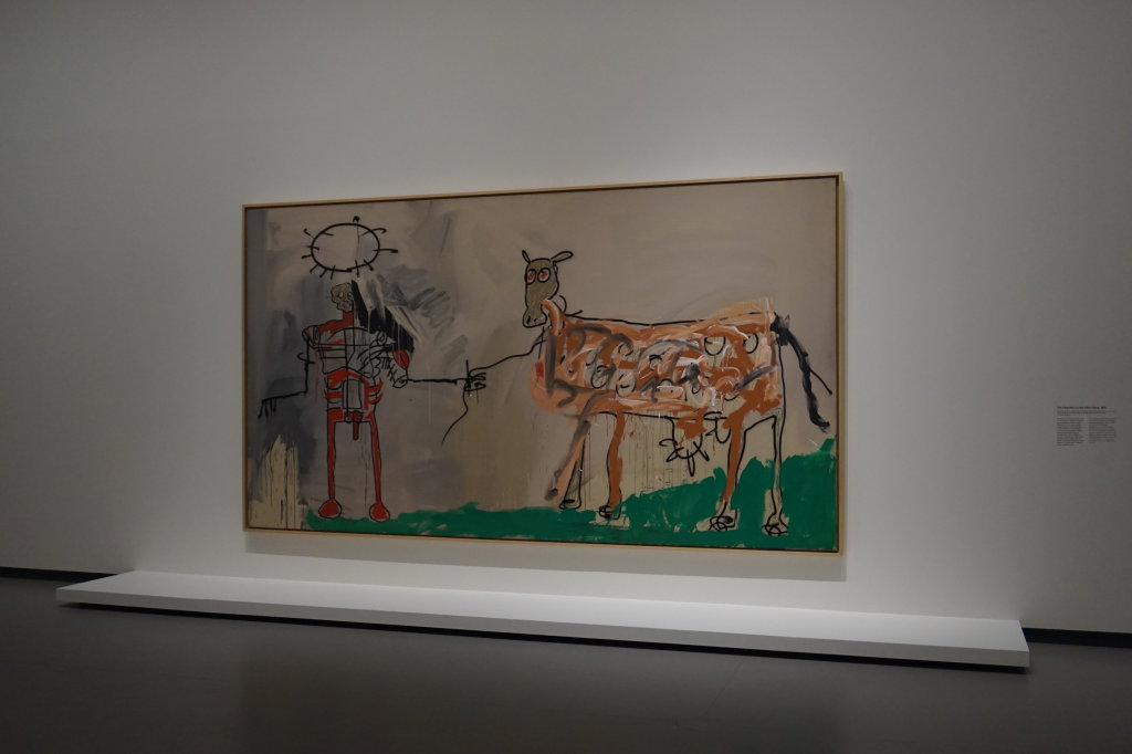 Vue de l'exposition Jean-Michel Basquiat - Fondation Louis Vuitton (36)