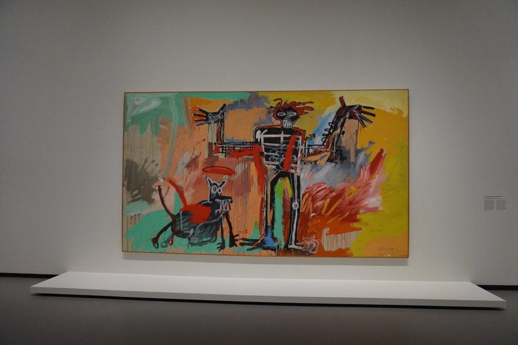 Vue de l'exposition Jean-Michel Basquiat - Fondation Louis Vuitton (37)