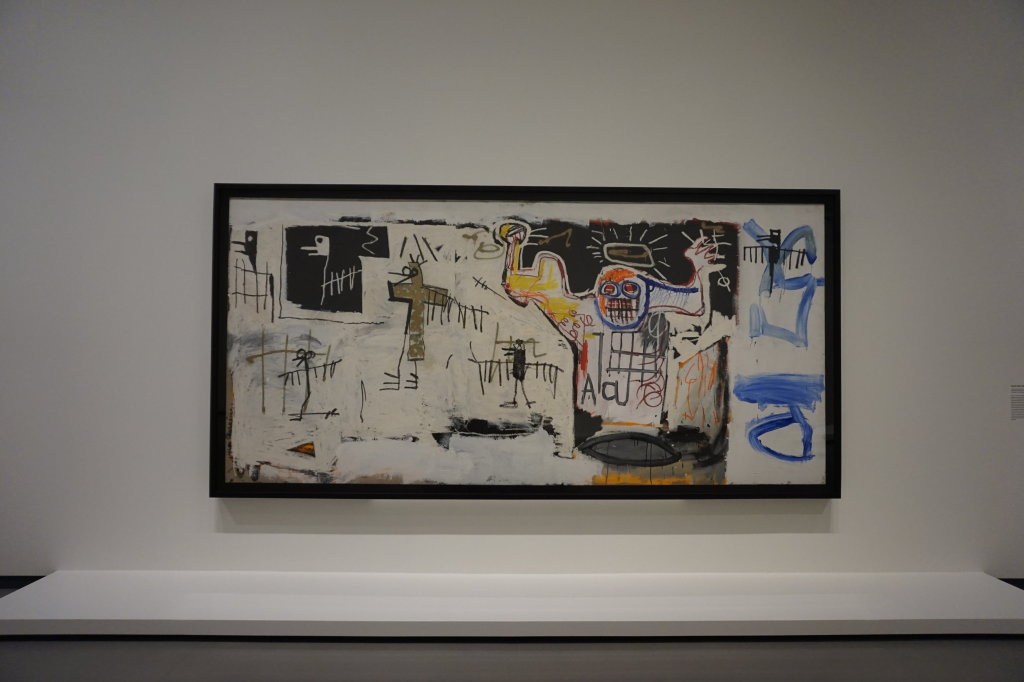 Vue de l'exposition Jean-Michel Basquiat - Fondation Louis Vuitton (38)